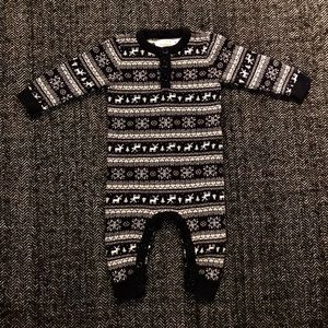 ⬇️Joe fresh fair isle  one piece size 3-6 m
